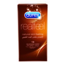 Durex Condoms Real Feel Natural Skin Feeling