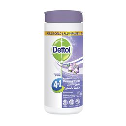 Dettol Multi-Action 4-in-1 Surface Cleaning Wipes Lavender 35s
