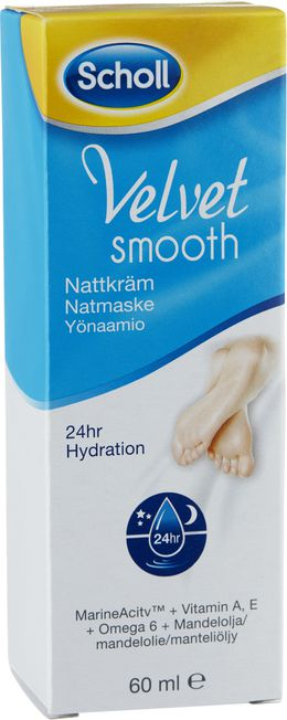 Scholl Velvet Smooth Yönaamio 60 ml