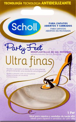 Mini Palmilhas em gel Party Feet™ ultra finas