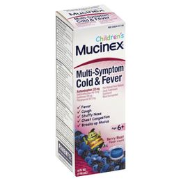 Children's MUCINEX® Multi-Symptom Cold & Fever