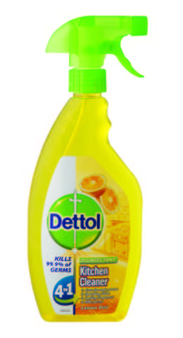 Dettol Hygiene Cleaner Kitchen Trigger Lemon Zest