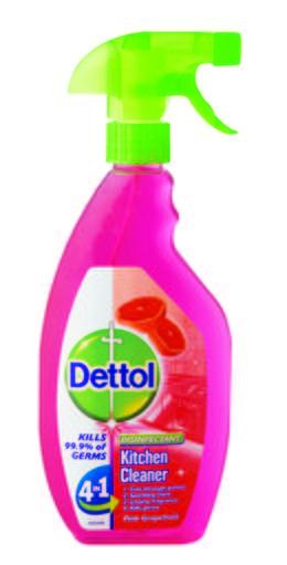 Dettol Hygiene Cleaner Kitchen Trigger Grape Fruit