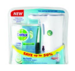 Dettol No Touch Handwash Complete Cucumber Splash