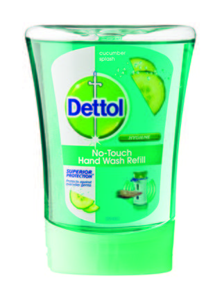 Dettol no touch handwash refill cucumber splash