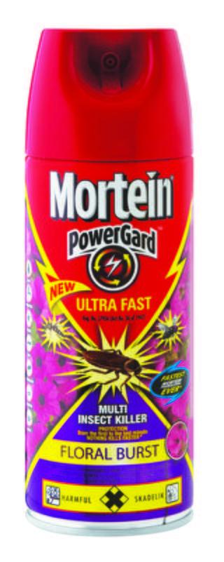 MORTEIN  POWERGARD ULTRAFAST FLORAL BURST