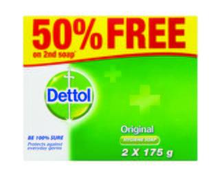 Dettol Hygiene Soap Original 2x175g