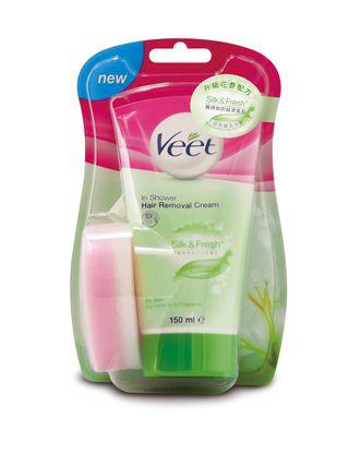 Veet®升級花香沐浴用脫毛乳霜(乾性肌膚配方)