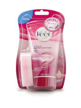 Veet®升級花香沐浴用脫毛乳霜(玫瑰香薰精華)