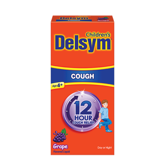 Delsym® Children's 12 Hour Cough Relief - Grape Flavor