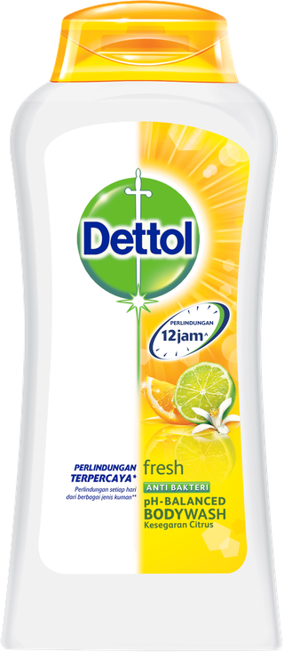 Sabun Cair Anti Bakteri Dettol Fresh (125ml)