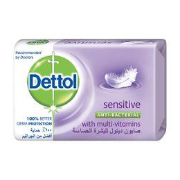 قالب صابون ديتول للبشرة الحساسة المضاد للبكتيريا 120 جم