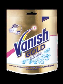 Vanish Gold Oxi Action Кристальная белизна Пятновыводитель и отбеливатель для тканей порошкообразый 250г