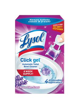 Lysol® Click Gel™ Automatic Toilet Bowl Cleaner - Lavender