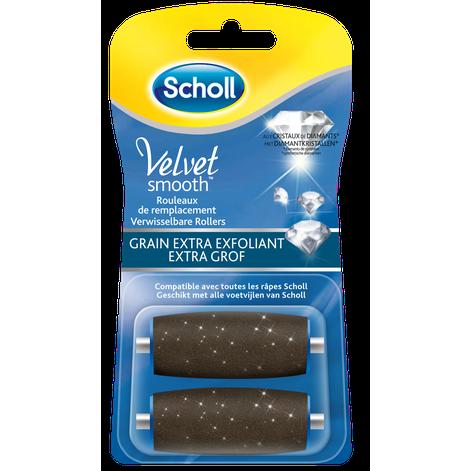 Rouleaux De Remplacement Scholl Velvet Smooth™ Grain Extra Exfoliant