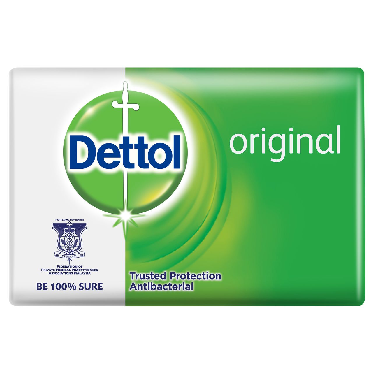 Dettol Antibacterial Original Bar Soap Malaysia Series Package