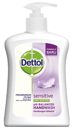 Sabun Cuci Tangan Anti Bakteri Dettol Sensitive