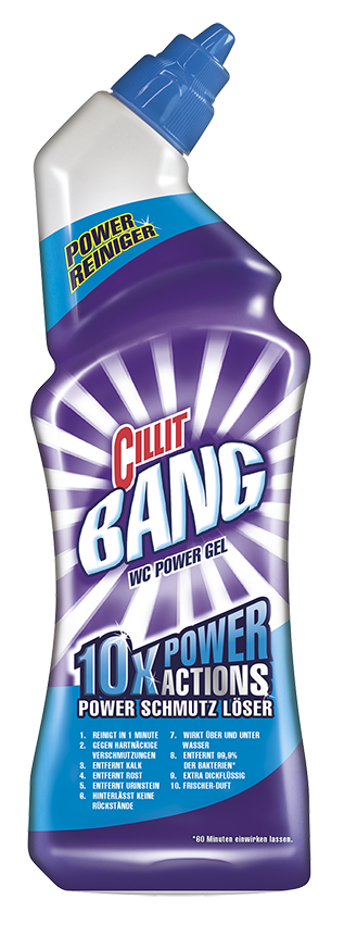 Cillit BANG WC Power Gel Schmutzlöser