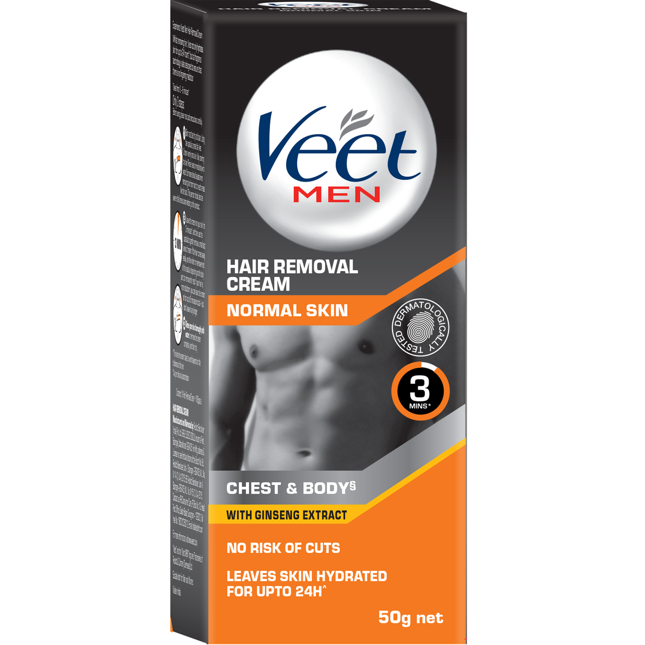 Buy Veet Men Hair Removal Cream Normal Skin Cream 50g Pack