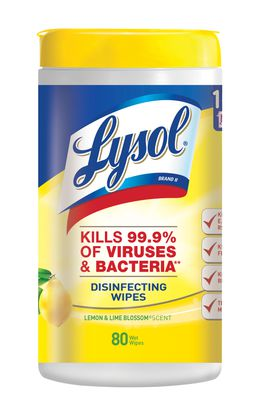 Lysol® Disinfecting Wipes - Lemon and Lime Blossom®