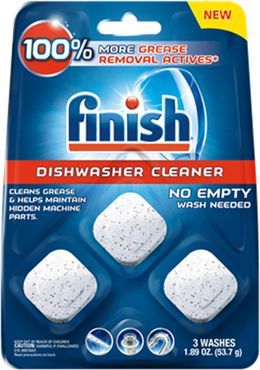 FinishDishwasher Cleaner Pouches