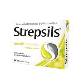 Strepsils citromízű cukormentes szopogató tabletta
