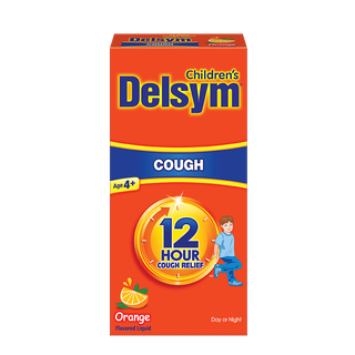 Delsym® Children's 12 Hour Cough Relief - Orange Flavor
