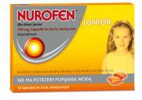Nurofen dla dzieci Junior Kapsulki do zucia Ibuprofenum 100mg