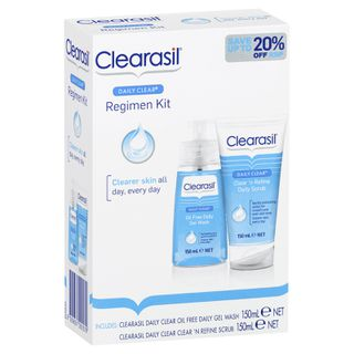 Clearasil Daily Clear Regime Pack
