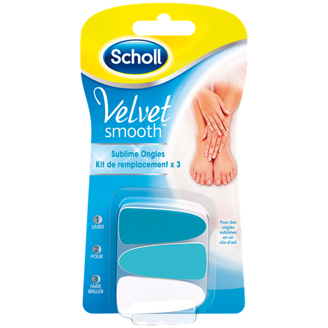Scholl Velvet Smooth™ Sublime Ongles Kit De Remplacement