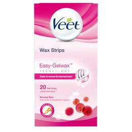 Wax Strips Easy-Gelwax Technology Legs & Body Normal Skin