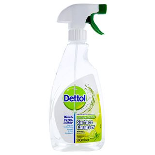 Dettol Antibacterial Surface Cleanser Trigger Spray Lime & Mint Disinfectant 500ml