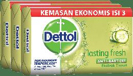 Sabun Anti Bakteri Dettol Lasting Fresh