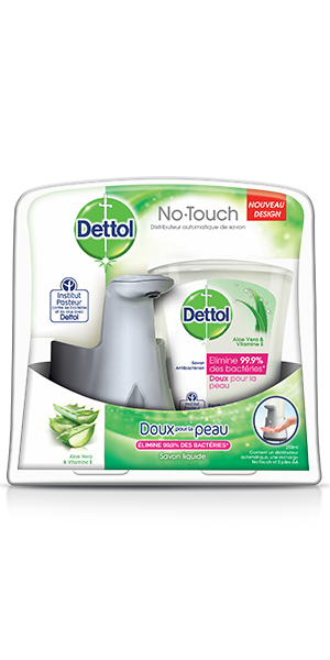 Kit Dettol No Touch Effet Inox