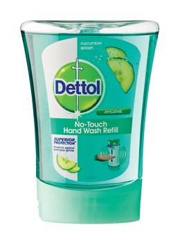 Dettol no touch handwash refill cucumber splash
