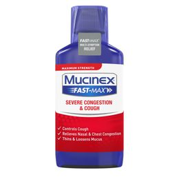 Maximum Strength MUCINEX® Fast-Max® Severe Congestion & Cough (liquid) 6 oz