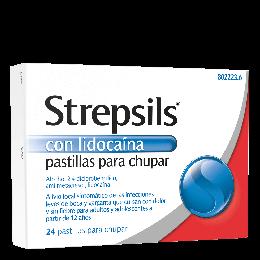 Strepsils con Lidocaina