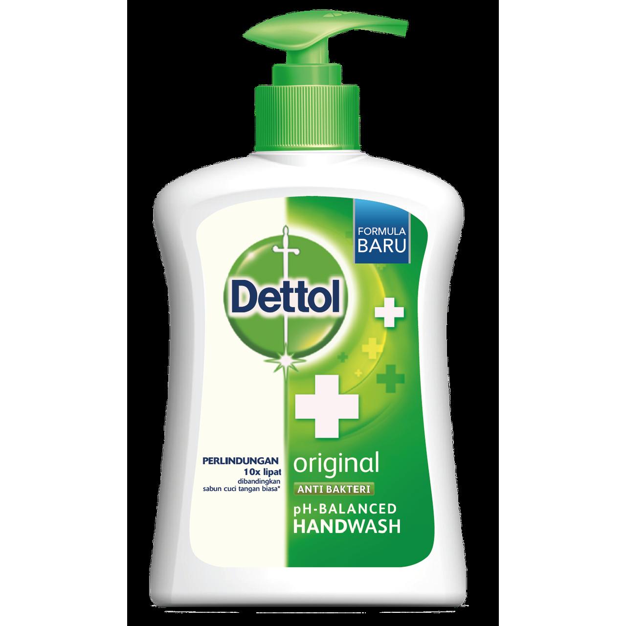 Dettol Anti Bacterial Original Handwash Dettol Original Handwash