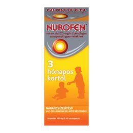 Nurofen narancsízű 20 mg/ml belsőleges szuszpenzió gyermekeknek 3 hónapos kortól