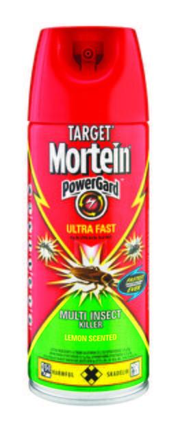 MORTEIN  POWERGARD ULTRAFAST LEMON SCENTED