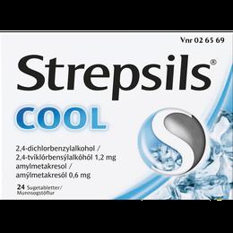 Strepsils Cool sugetabletter 24 stk.