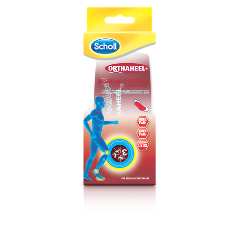 Scholl Orthaheel Orthotics Regular Small