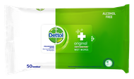 Dettol Anti Bakteri Wet Wipes Original (50 lembar)