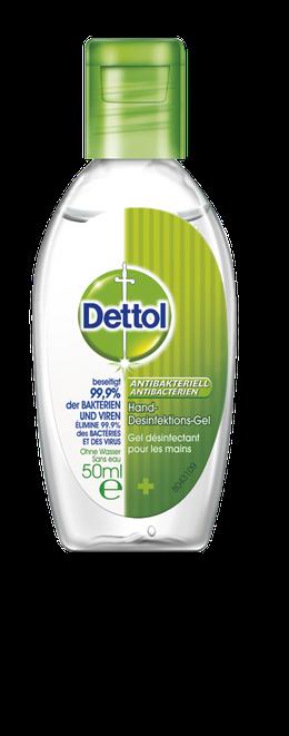 Dettol Antibakterielles Hand-Desinfektionsgel  Gel désinfectant pour les mains