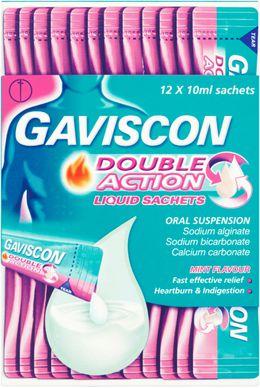 Gaviscon Double Action Liquid Sachets