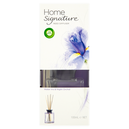 Air Wick Home Signature Reed Diffuser Water Iris & Night Orchid