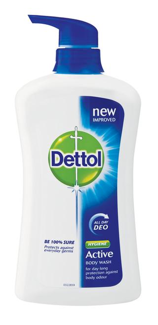 Dettol Active hygiene body wash 600ML