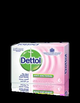 صابون ديتول للعناية بالبشرة المضاد للبكتريا 90 جم