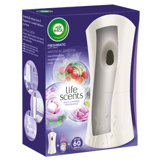 Air Wick Freshmatic Auto Spray Starter Kit Life Scents Mystical Garden