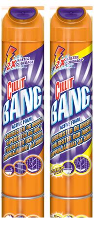 Cillit Bang Active Foam Saippuajäämät & suihku
